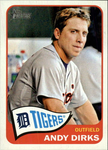 Photo of 2014 Topps Heritage #336 Andy Dirks