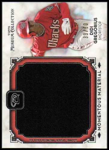 Photo of 2014 Topps Museum Collection Momentous Material Jumbo Relics #MMJRDGR Didi Gregorius