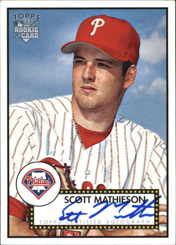 Photo of 2006 Topps 52 Signatures #SM Scott Mathieson I