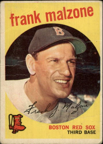Photo of 1959 Topps #220 Frank Malzone