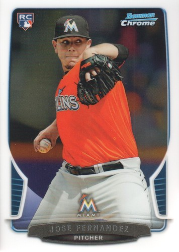 Photo of 2013 Bowman Chrome #103 Jose Fernandez RC
