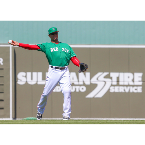 Photo of Red Sox Foundation St. Patrick's Day Jersey Auction - Marco Hernandez Game-Used & Autographed Jersey