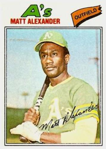 Photo of 1977 Topps #644 Matt Alexander