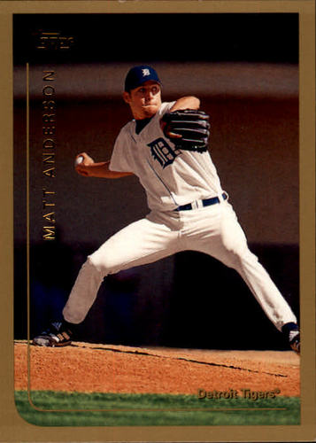 Photo of 1999 Topps #21 Matt Anderson