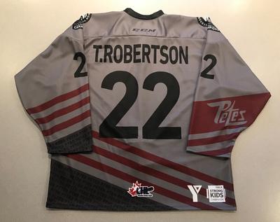 Tucker Roberston (#22) - '93 Petes Alumni Jersey
