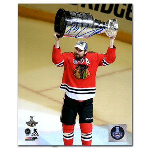 Patrick Sharp Chicago Blackhawks 2015 Stanley Cup Autographed 8x10