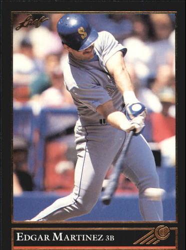 Photo of 1992 Leaf Black Gold #197 Edgar Martinez