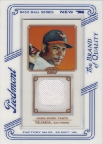 Photo of 2010 Topps 206 Mini Framed Relics Piedmont #MT Miguel Tejada
