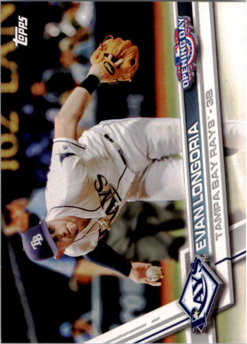 Photo of 2017 Topps Opening Day #141A Evan Longoria