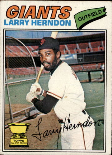 Photo of 1977 Topps #397 Larry Herndon RC