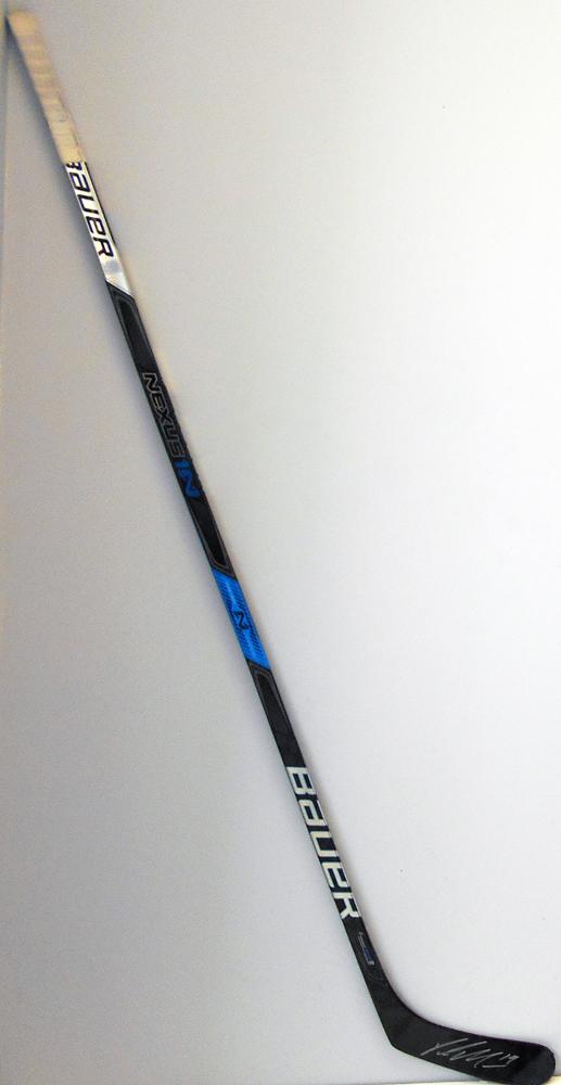 #19 PatrickMaroon Game Used Stick - Autographed - Edmonton Oilers