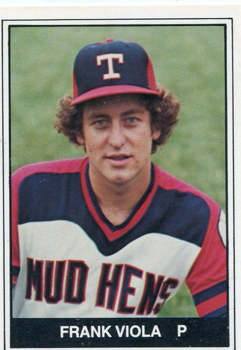 Photo of 1982 Toledo Mud Hens TCMA #7 Frank Viola
