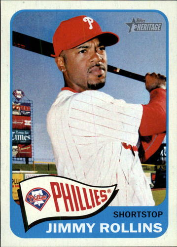 Photo of 2014 Topps Heritage #337 Jimmy Rollins