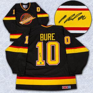 Pavel Bure Vancouver Canucks Autographed Retro CCM Black Jersey