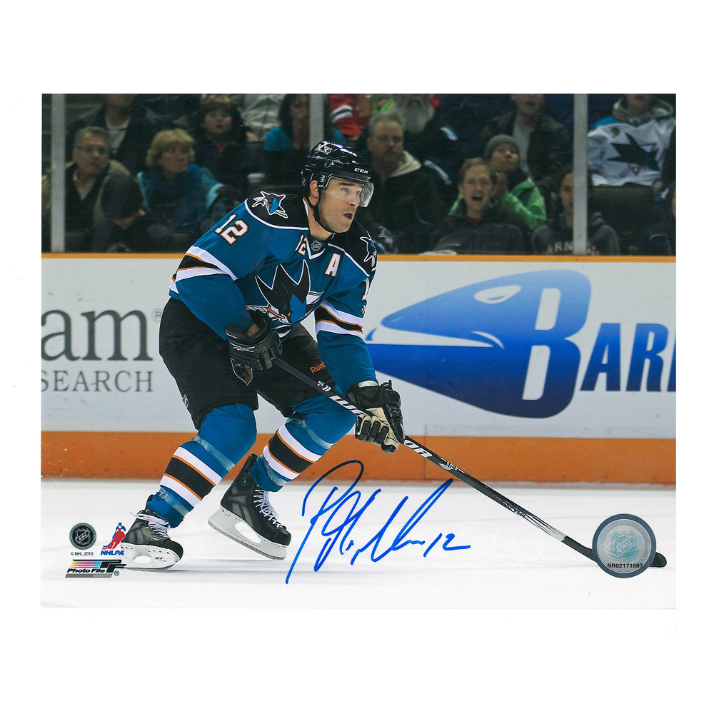 PATRICK MARLEAU Signed San Jose Sharks 8 X 10 Photo - 70124