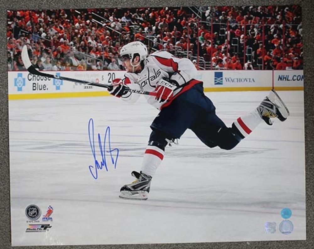 Alexander Ovechkin Washington Capitals Autographed Slapshot 16x20 Photo