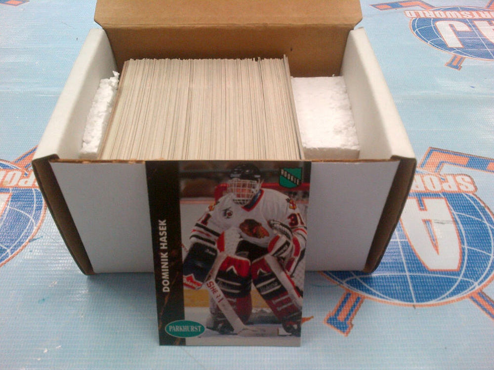 1991-92 PARKHURST Series 2 Complete Hockey Card Set *226-450* *HASEK RC* *GRETZKY, YZERMAN, ROY CARDS*