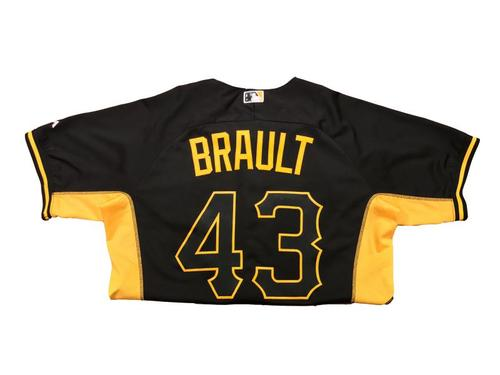 Photo of Steven Brault Team-Issued 2016 Batting Practice Jersey