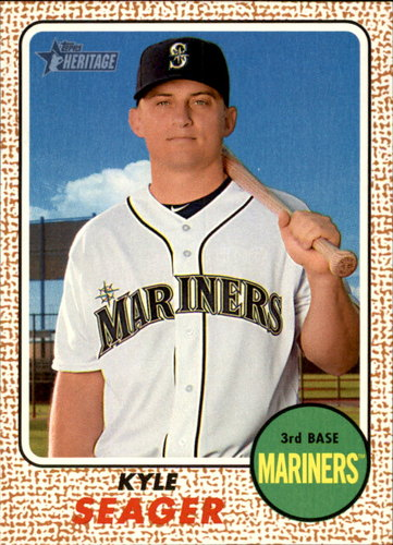 Photo of 2017 Topps Heritage #88 Kyle Seager