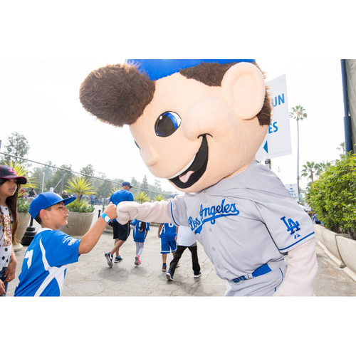 Photo of LA Dodgers Foundation Online Auction: Dodger Character Experience