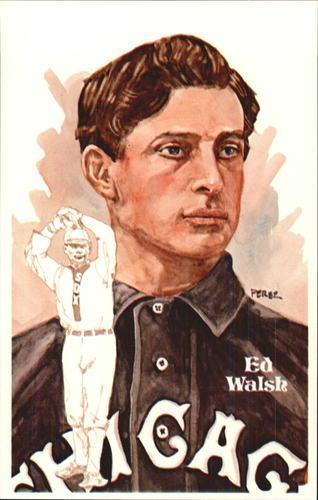 Photo of 1980-02 Perez-Steele Hall of Fame Postcards #49 Ed Walsh -- Set #08689