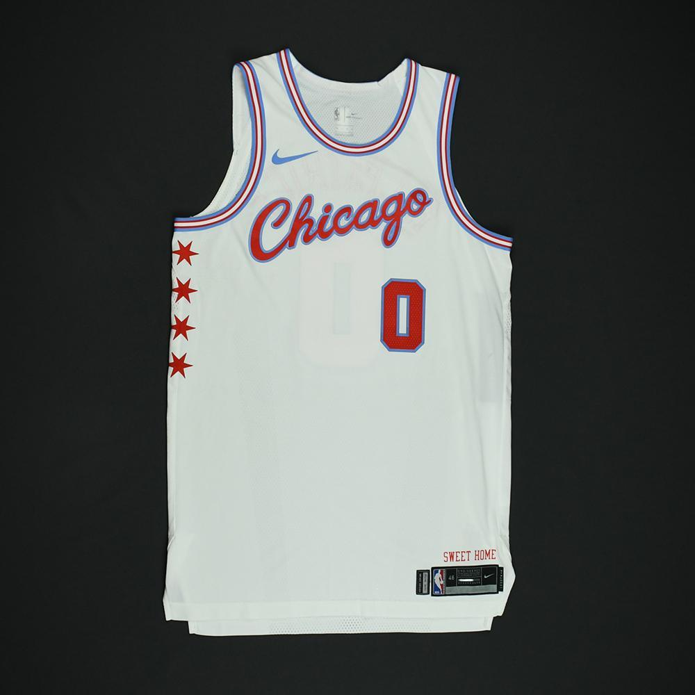 Sean Kilpatrick - Chicago Bulls - Game-Worn 'City' Jersey - 2017-18 Season