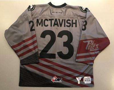 Mason McTavish (#23) - '93 Petes Alumni Jersey