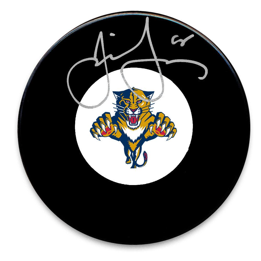 Jaromir Jagr Florida Panthers Autographed Puck