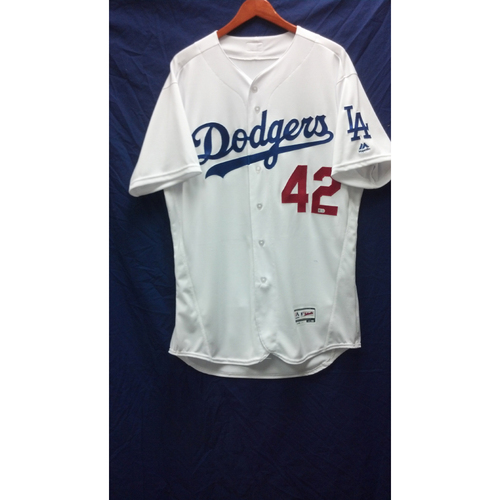 Photo of Juan Castro Game-Used Jersey - 4/15/16