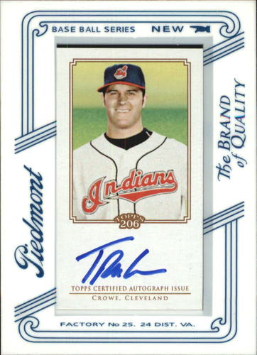 Photo of 2010 Topps 206 Mini Framed Autographs Piedmont #TC Trevor Crowe