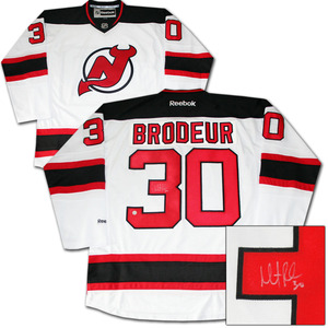 Martin Brodeur Autographed New Jersey Devils Jersey