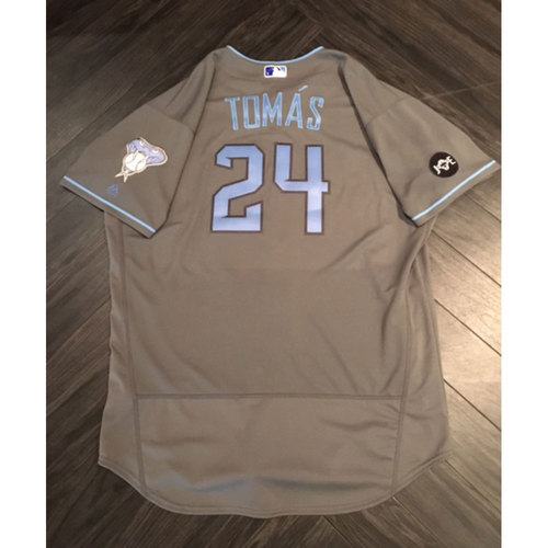 Photo of Yasmany Tomas Game-Used Father's Day Jersey