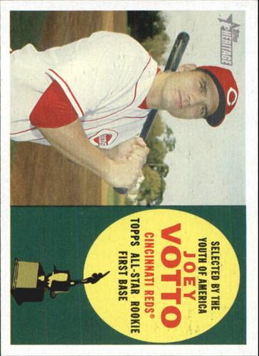 Photo of 2009 Topps Heritage #317 Joey Votto