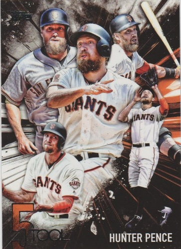Photo of 2017 Topps Five Tool #5T44 Hunter Pence