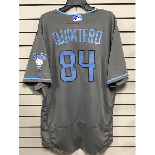 Photo of Humberto Quintero Game-Used 2017 Father's Day Jersey