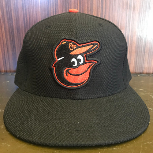 J.J. Hardy - Batting Practice Hat: Team-Issued