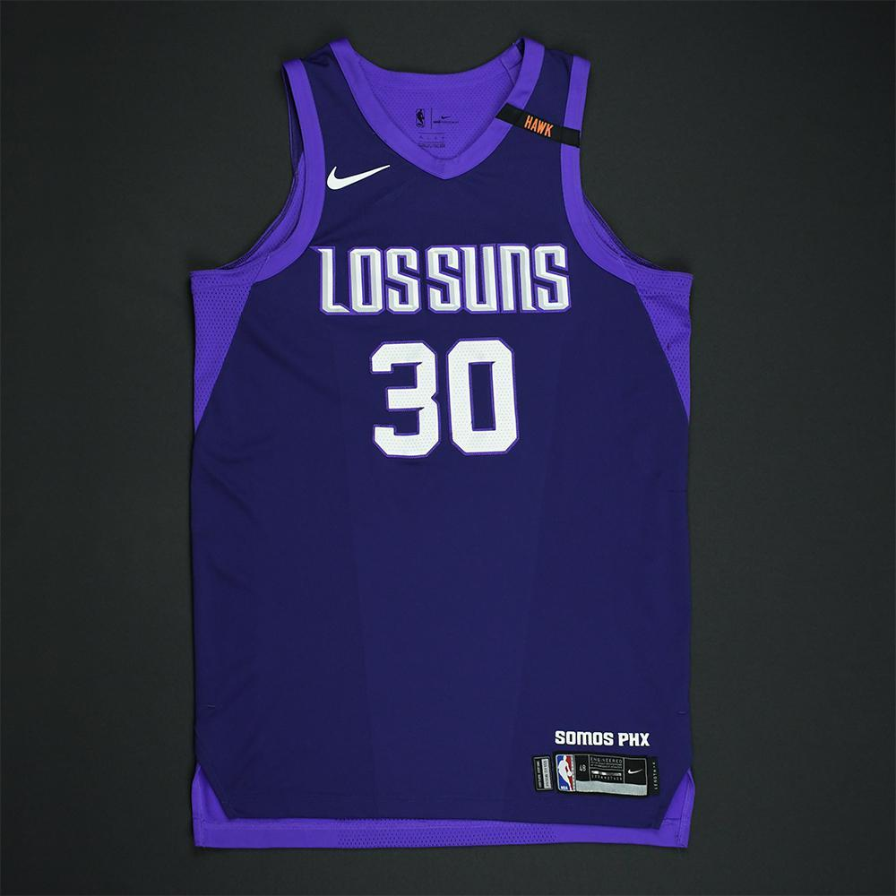 Troy Daniels - Phoenix Suns - Game-Worn 'Los Suns' City Jersey - 2017-18 Season
