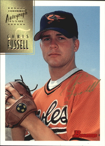 Photo of 1997 Bowman Certified Gold Ink Autographs #CA28 Chris Fussell