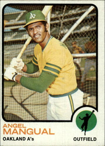 Photo of 1973 Topps #625 Angel Mangual