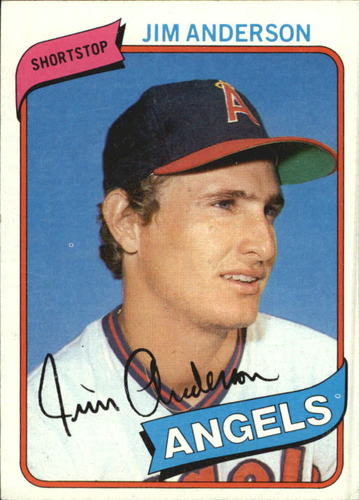Photo of 1980 Topps #183 Jim Anderson DP