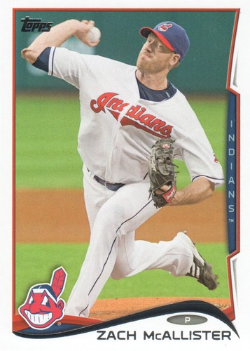 Photo of 2014 Topps #616 Zach McAllister
