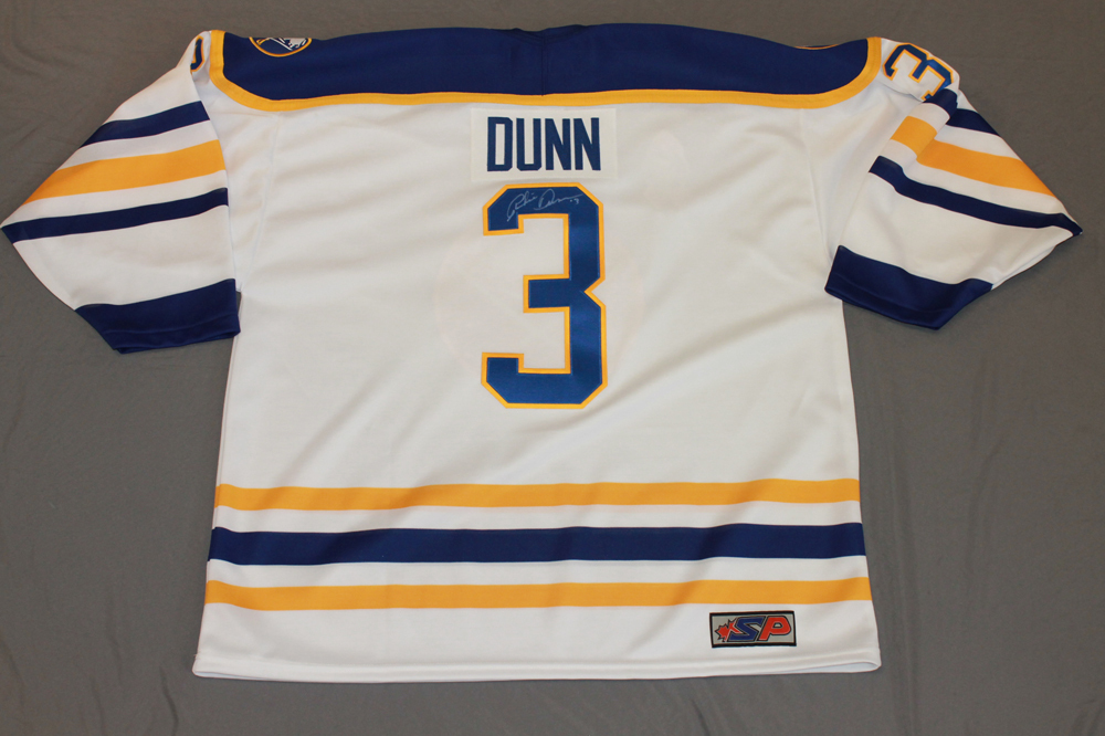 Richie Dunn Autographed Buffalo Sabres Breast Cancer Awareness Jersey