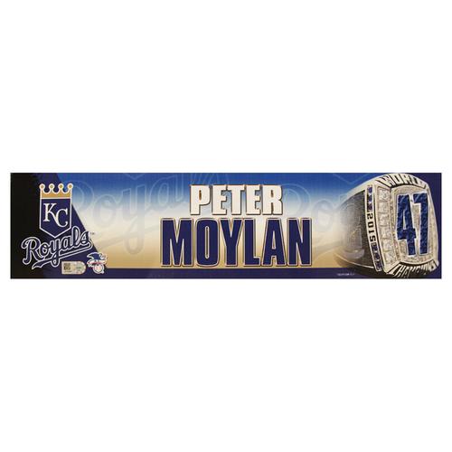 Photo of Peter Moylan 2016 Locker Nameplate