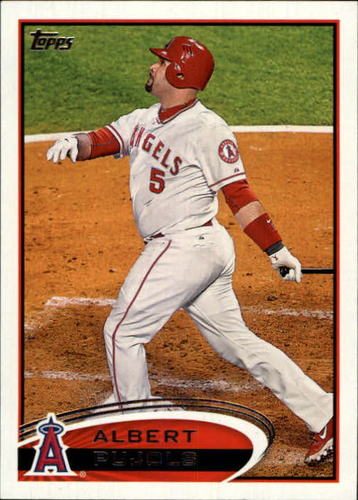 Photo of 2012 Topps #331A Albert Pujols SP/With glove