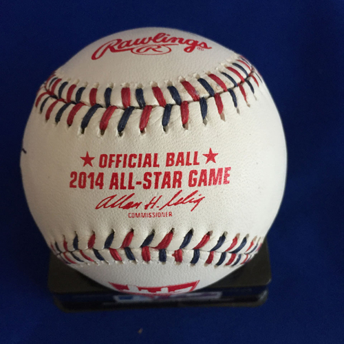 Photo of UMPS CARE AUCTION: 2014 All Star Game Crew Signed Baseball