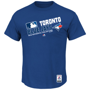Toronto Blue Jays Big & Tall Authentic Collection Team Choice T-Shirt by Majestic