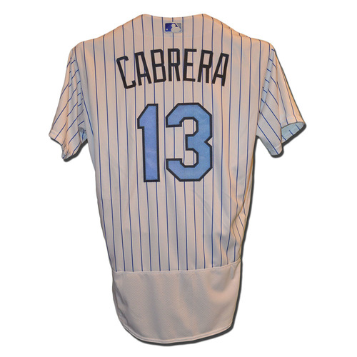 Photo of Asdrubal Cabrera #13 -Team Issued Father's Day Jersey - Mets vs. Nationals - 6/18/17