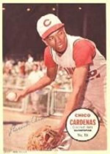 Photo of 1967 Topps Posters Inserts #10 Chico Cardenas