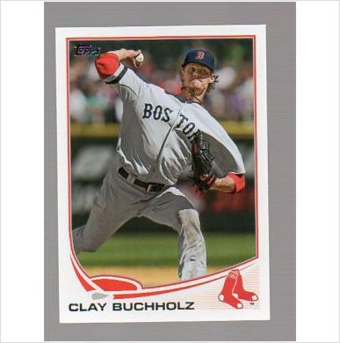Photo of 2013 Topps #503 Clay Buchholz