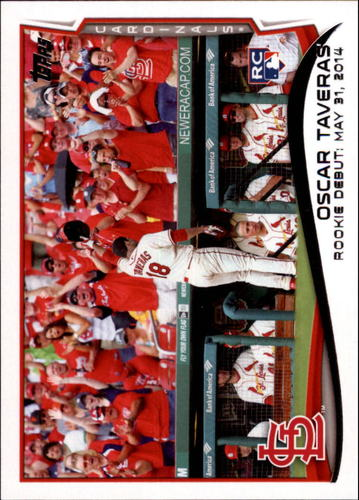Photo of 2014 Topps Update #US113 Oscar Taveras RC